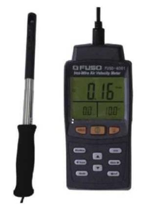 【直送品】 【期間限定特価】FUSO (フソー) 伸縮&フレキシブル熱線式風速風量計 FUSO-4001 (FUSO-4001-K)