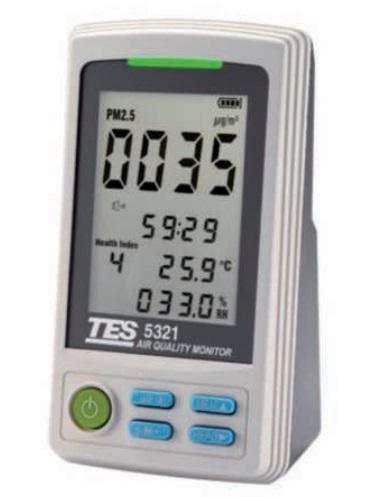 【期間限定特価】FUSO (フソー) PM2.5 環境モニター TES-5321 (TES-5321-K)