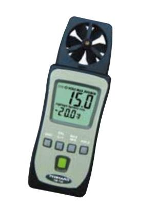 【直送品】 【期間限定特価】FUSO (フソー) ミニポケットベーン式風速計 TM-740 (TM-740-K)