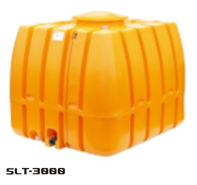 【直送品】 スイコー スーパーローリータンク SLT-3000(オレンジ) (SLT-3000-O) 【法人向け·個人宅配送不可】 【大型】