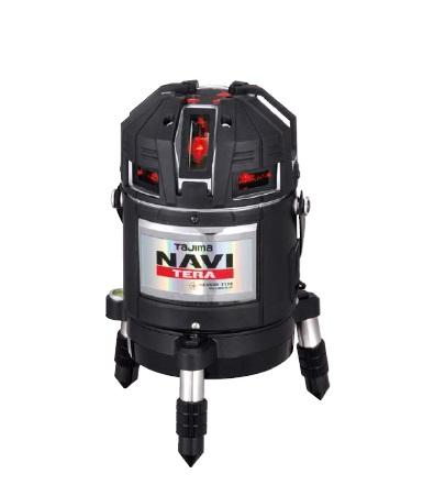 タジマ NAVITERAセンサー矩十字・横全周/10m/IP ML10N-KJC 《レーザー墨出し器》