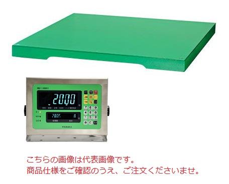 【直送品】 田中衡機 (TANAKA) フロアスケール(SS製シリーズ) TTL-600 1200mmX1200mm (検定付)