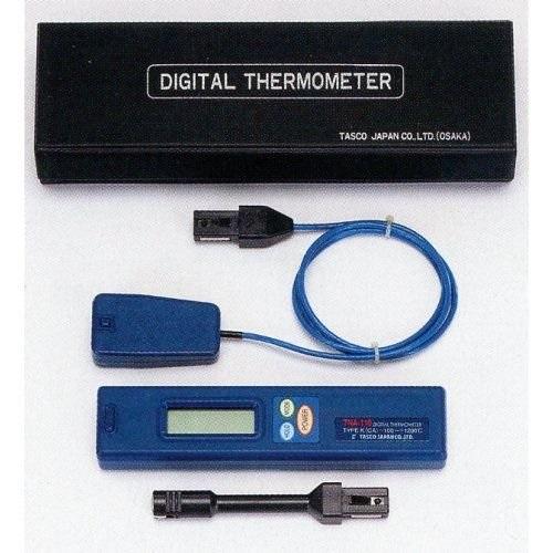 【計測機器セール】TASCO デジタル温度計表面センサーセット MTA410AB