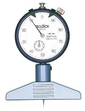 テクロック (TECLOCK) ダイヤルデプスゲージ DM-210