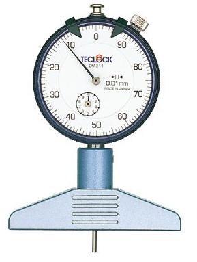 テクロック (TECLOCK) ダイヤルデプスゲージ DM-211