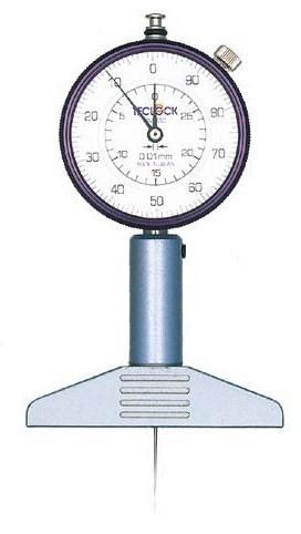 テクロック (TECLOCK) ダイヤルデプスゲージ DM-230