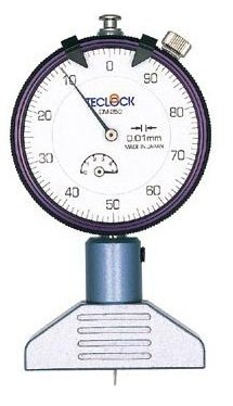 テクロック (TECLOCK) ダイヤルデプスゲージ DM-250