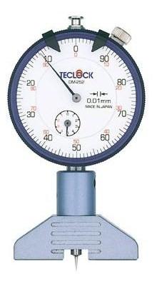 テクロック (TECLOCK) ダイヤルデプスゲージ(プリント基板測定用) DM-252