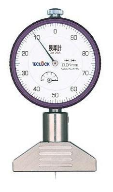 テクロック (TECLOCK) ダイヤルデプスゲージ(膜圧計) DM-264