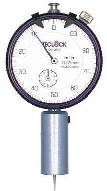 テクロック (TECLOCK) ダイヤルデプスゲージ(丸ベース形) DM-280
