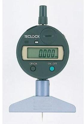 テクロック (TECLOCK) 普及型デジタルデプスゲージ DMD-2100S2