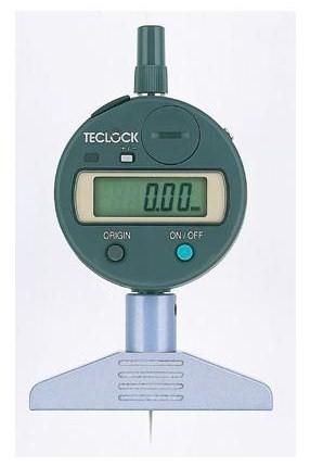 テクロック (TECLOCK) 普及型デジタルデプスゲージ DMD-210S2