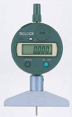 テクロック (TECLOCK) 普及型デジタルデプスゲージ DMD-2110S2