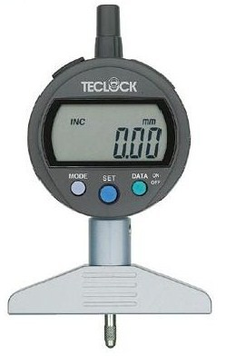 テクロック (TECLOCK) 標準型デジタルデプスゲージ DMD-213J
