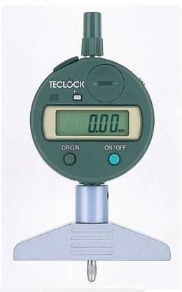 テクロック (TECLOCK) 普及型デジタルデプスゲージ DMD-213S2