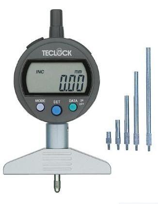 テクロック (TECLOCK) 標準型デジタルデプスゲージ DMD-214J