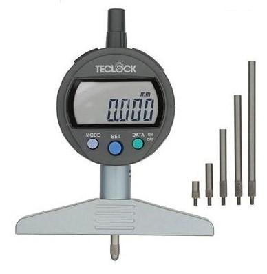 テクロック (TECLOCK) 標準型デジタルデプスゲージ DMD-2150J
