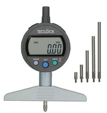 テクロック (TECLOCK) 標準型デジタルデプスゲージ DMD-215J