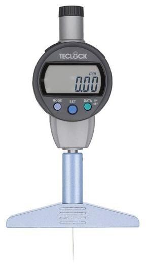 激安人気新品 (TECLOCK) DMD-240J:道具屋さん店 テクロック 標準型デジタルデプスゲージ-DIY・工具