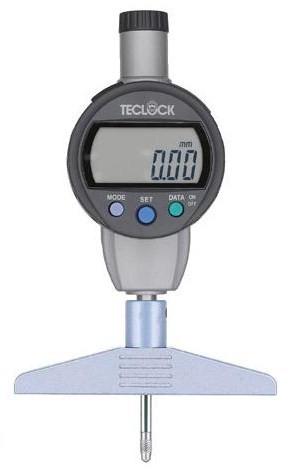 テクロック (TECLOCK) 標準型デジタルデプスゲージ DMD-241J