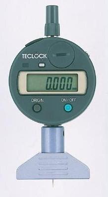 テクロック (TECLOCK) 普及型デジタルデプスゲージ DMD-2500S2 【受注生産品】