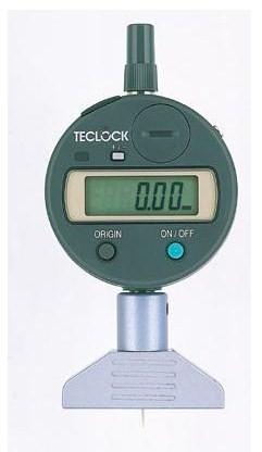 テクロック (TECLOCK) 普及型デジタルデプスゲージ DMD-250S2