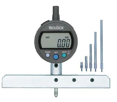 テクロック (TECLOCK) 標準型デジタルデプスゲージ DMD-293J