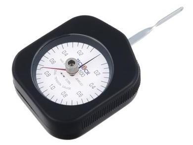 テクロック (TECLOCK) ダイヤルテンションゲージ(置針式) DTN-500G