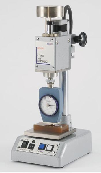【直送品】 テクロック (TECLOCK) デュロメータスタンド(自動タイプ・モータ駆動) GS-610