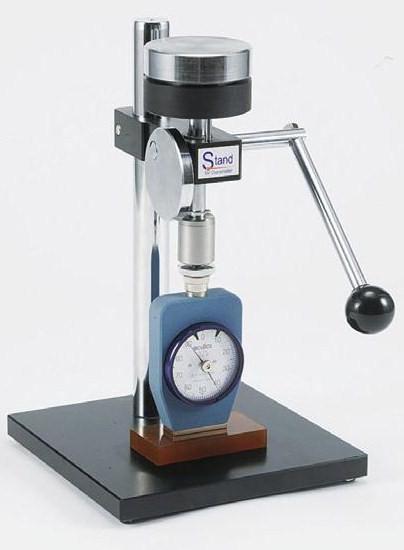 テクロック (TECLOCK) デュロメータスタンド(手動タイプ) GS-615 《受注生産品》