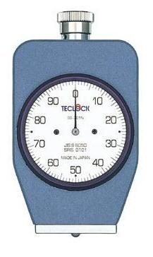 テクロック (TECLOCK) デュロメータ(JIS K 7312/JIS S 6050準拠・アナログ) GS-701N