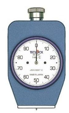 テクロック (TECLOCK) デュロメータ(JIS K 6301準拠・アナログ) GS-703N