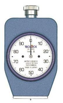 テクロック (TECLOCK) デュロメータ(JIS K 7215準拠・アナログ) GS-709N