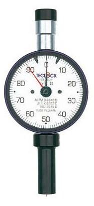 テクロック (TECLOCK) デュロメータ(アナログ・深穴細穴型) GS-719H