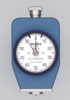 テクロック (TECLOCK) デュロメータ(JIS K 6253準拠・アナログ) GS-719R