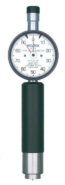テクロック (TECLOCK) デュロメータ(アナログ・脚長太穴型) GS-720L