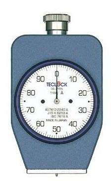 テクロック (TECLOCK) デュロメータ(JIS K 6253準拠・アナログ) GS-721N