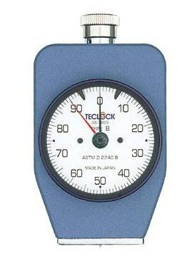 テクロック (TECLOCK) デュロメータ(ASTM D 2240準拠・アナログ) GS-750G