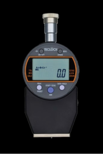 【ポイント5倍】 【直送品】 テクロック (TECLOCK) デュロメータ(JIS K 6253準拠・デジタル) GSD-719K