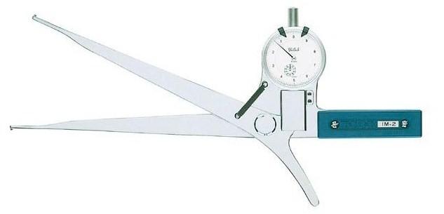 テクロック (TECLOCK) 内側ダイヤルキャリパゲージ IM-2