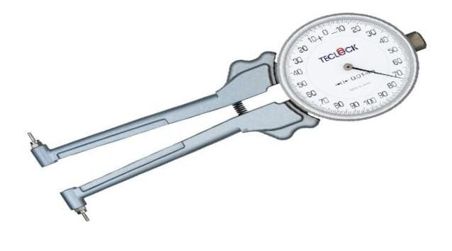 テクロック (TECLOCK) 内側ダイヤルキャリパゲージ(替測定子交換式タイプ) IM-882