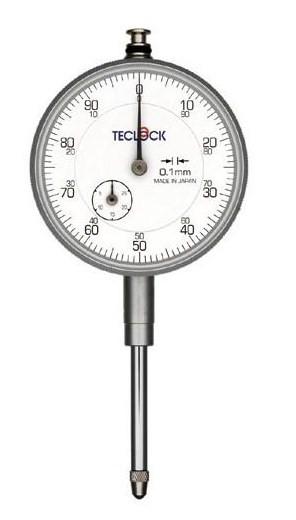 テクロック (TECLOCK) 0.1mm目盛ダイヤルゲージ KM-93