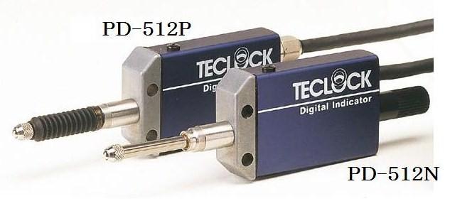 テクロック (TECLOCK) デジタルインジケータ PD-512P