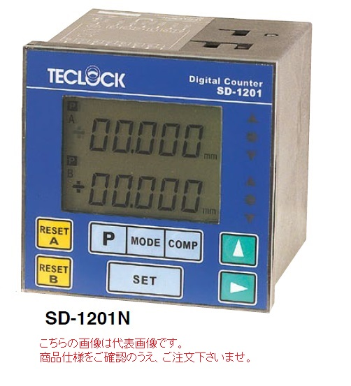 テクロック (TECLOCK) デジタルカウンタ SD-1201NC