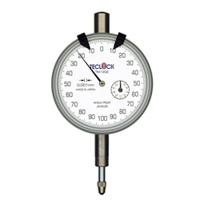 テクロック (TECLOCK) 0.001mm目盛ダイヤルゲージ TM-1202