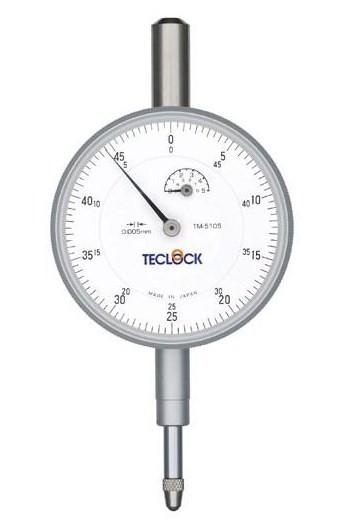テクロック (TECLOCK) 0.01mm目盛ダイヤルゲージ TM-5105