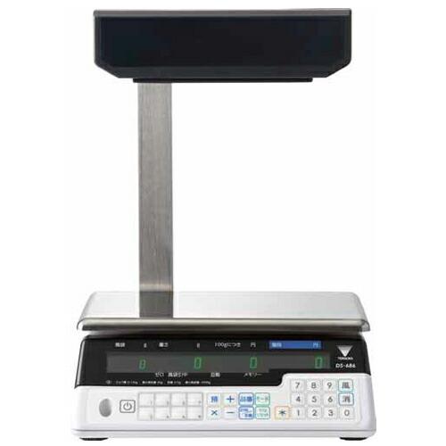 寺岡精工 (TERAOKA) デジタル料金はかり(検定付) DS-686P 15KG (24904) (ポールタイプ)