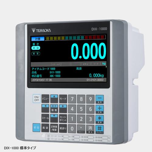 寺岡精工 (TERAOKA) デジタルインジケーター DIX-1000 (28701) (標準タイプ)