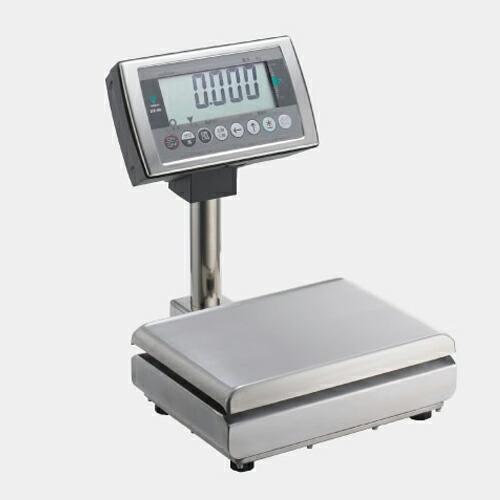 寺岡精工 (TERAOKA) 防水一体型スケール(検定付) DS-55 S-WP 15KG (86405) (乾電池タイプ)