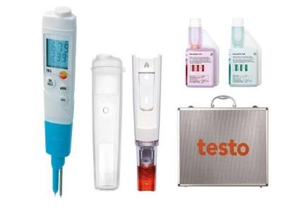 テストー (testo) 食品用pH計 testo206-2セット (0563 2066)